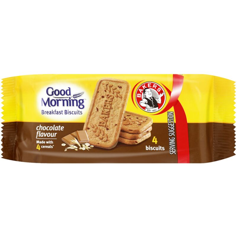 BAKERS GOOD MORNING CHOCOLATE – 50G