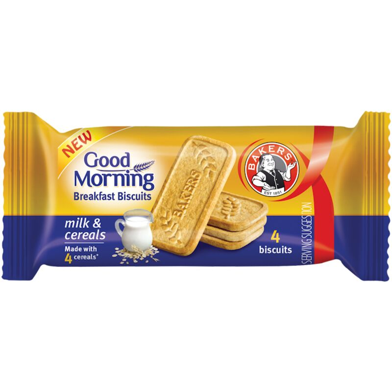 BAKERS GOOD MORNING MILK CEREAL – 50G
