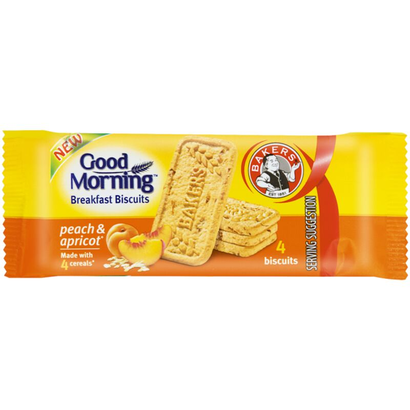 BAKERS GOOD MORNING PEACH & APRICOT – 50G