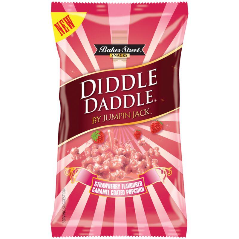 DIDDLE DADDLE POP CORN STRAWBERRY – 150G
