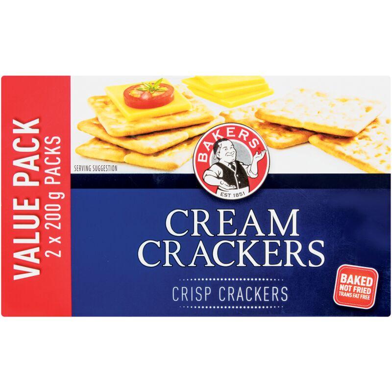 BAKERS CREAM CRACKER – 400G