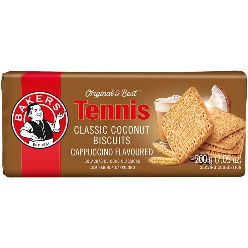 BAKERS BISCUIT TENNIS CAPPUCCINO – 200G