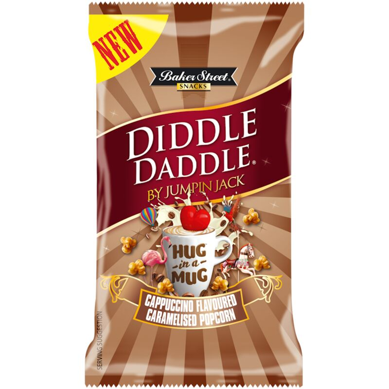 BAKERS STREET SWEET POP CORN DIDDLE DADDLE – 150G