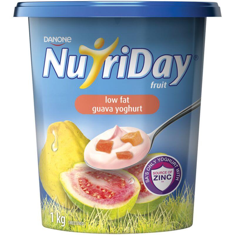 DANONE NUTRIDAY FRUIT YOGHURT LF GUAVA – 1L
