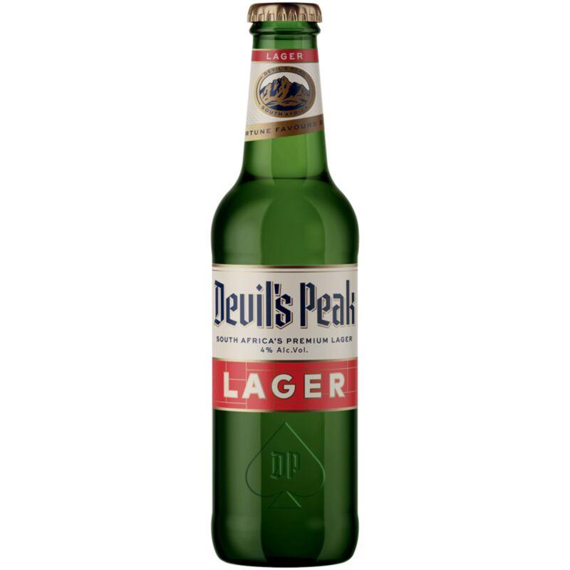 DEVIL'S PEAK LAGER NRB – 330ML