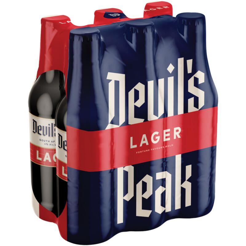 DEVIL'S PEAK LAGER NRB – 330ML X 6