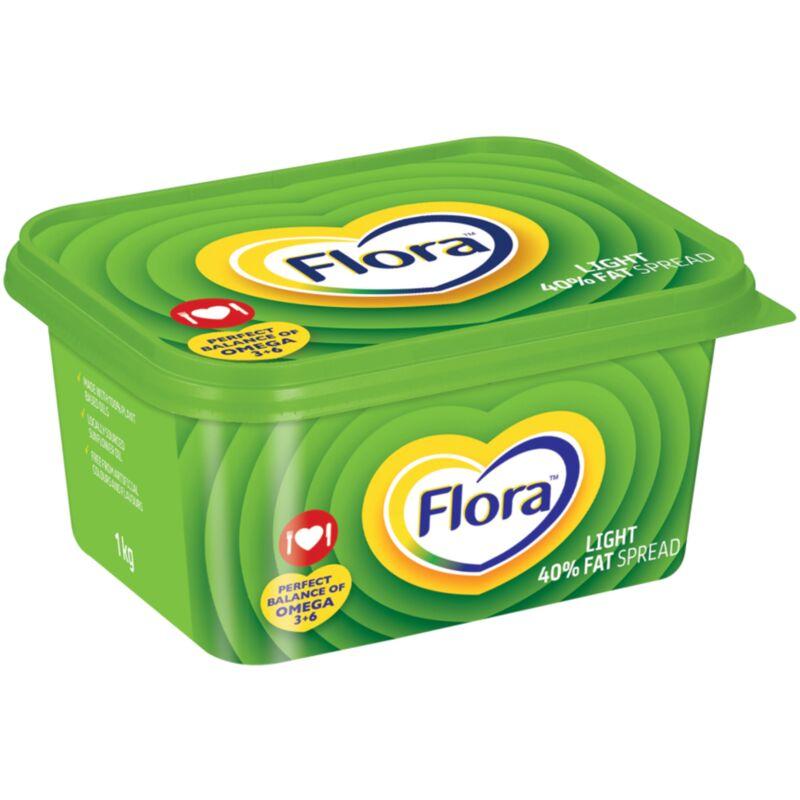 FLORA LIGHT FATSPREAD 40% – 1KG