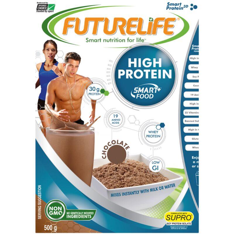 FUTURE LIFE HIGH PROTEIN CHOCOLATE – 500G