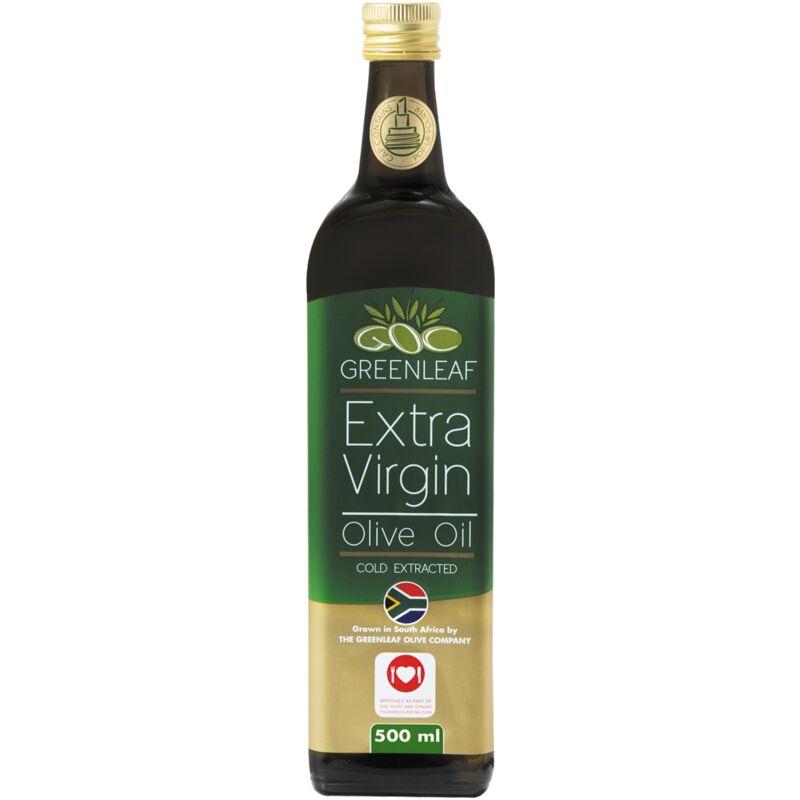 GREENLEAF EXTRA VIRGIN OLIVE OIL – 500ML