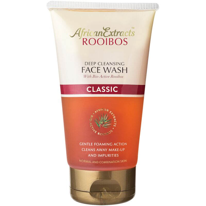 AFRICAN EXTRACTS ROOIBOS FACIAL WASH – 150ML