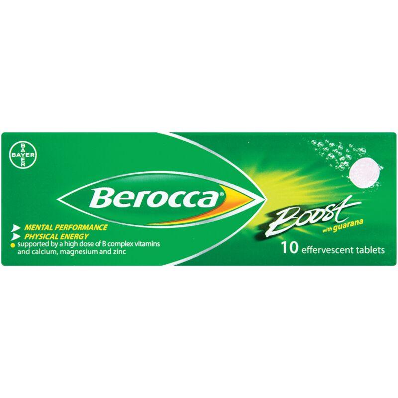 BEROCCA EFFERVESCENT BOOST – 10S