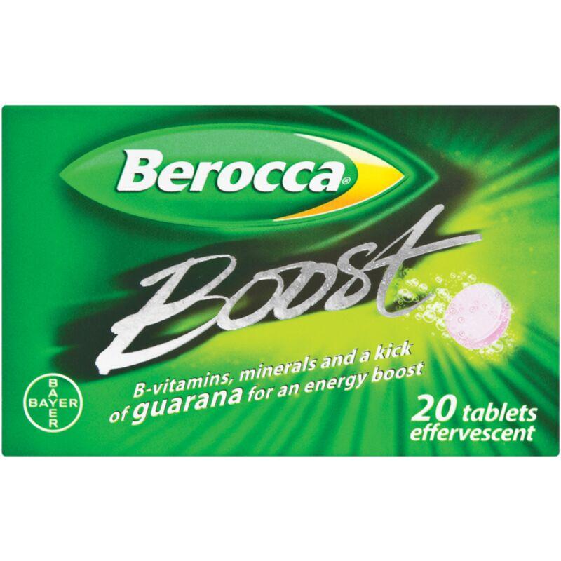 BEROCCA EFFERVESCENT BOOST – 20S
