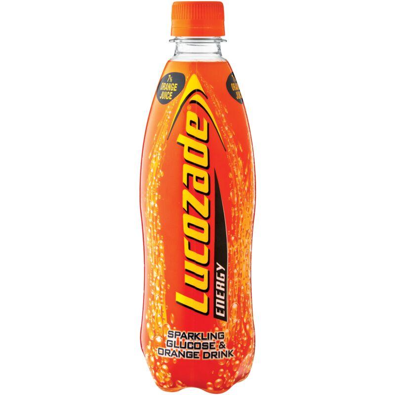 LUCOZADE ENERGY DRINK ORANGE – 500ML