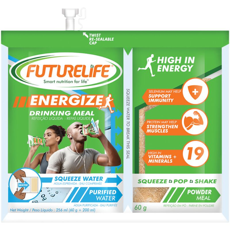 FUTURE LIFE ENERGIZE DRINKING MEAL – 260G
