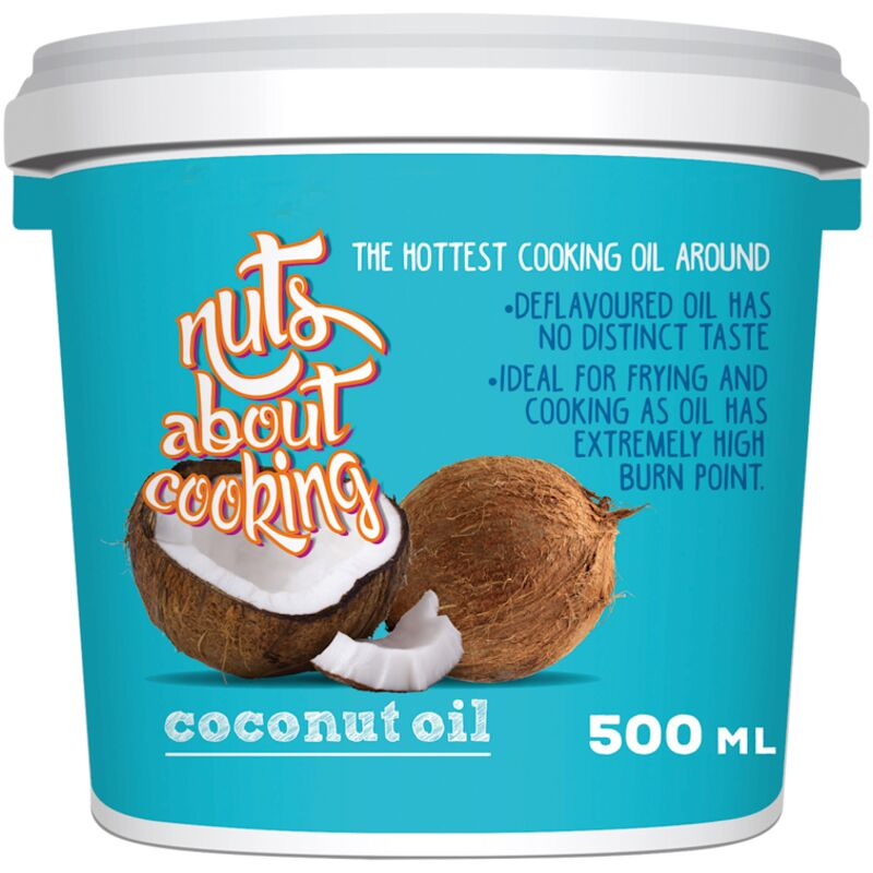 NUTS ABOUT COOKING COCUNUT OIL – 500ML
