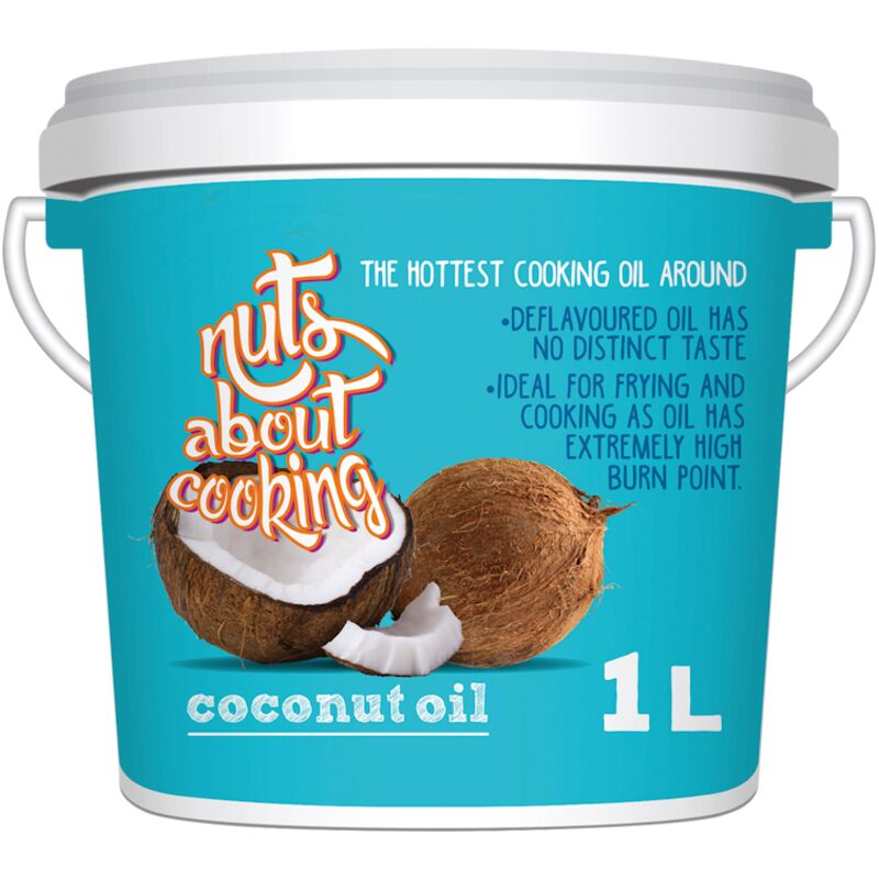NUTS ABOUT YOU COCONUT OIL – 1L