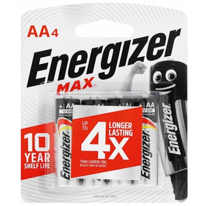 ENERGIZER MAX AA – 4S