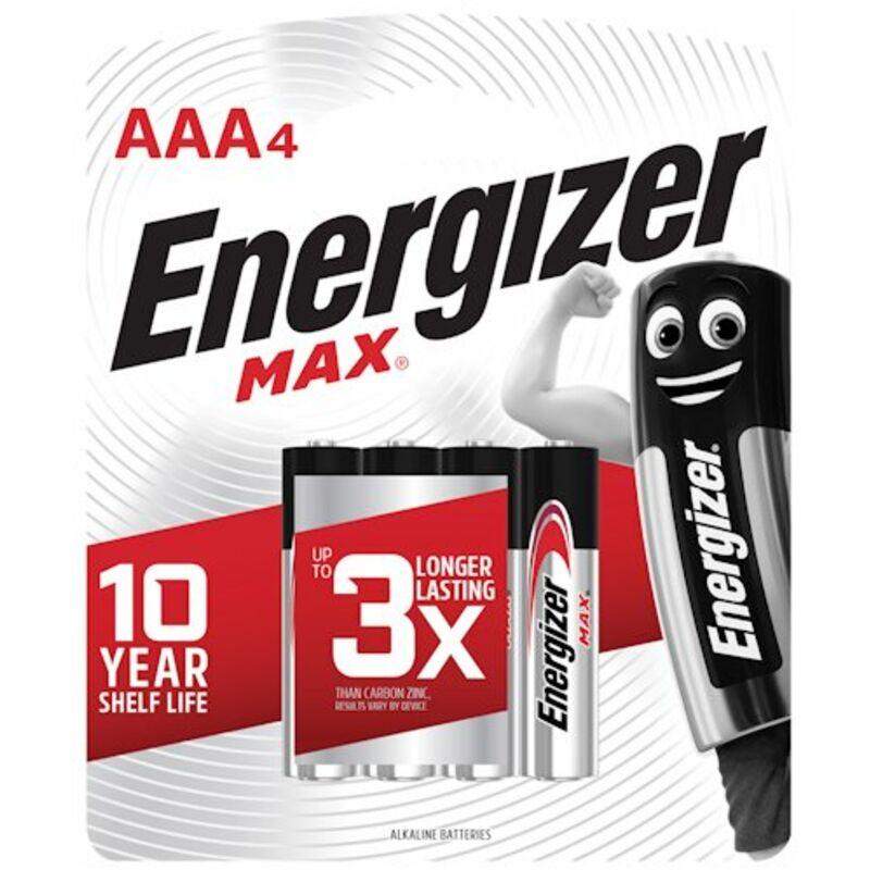 ENERGIZER MAX AAA – 4S