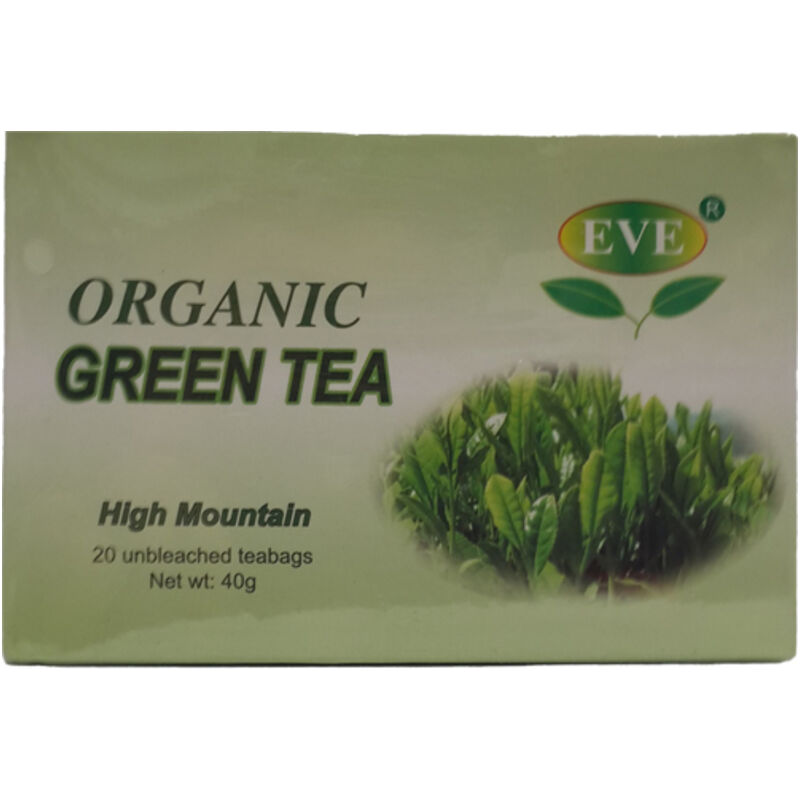 EVE ORGANIC GREEN TEABAGS – 20S
