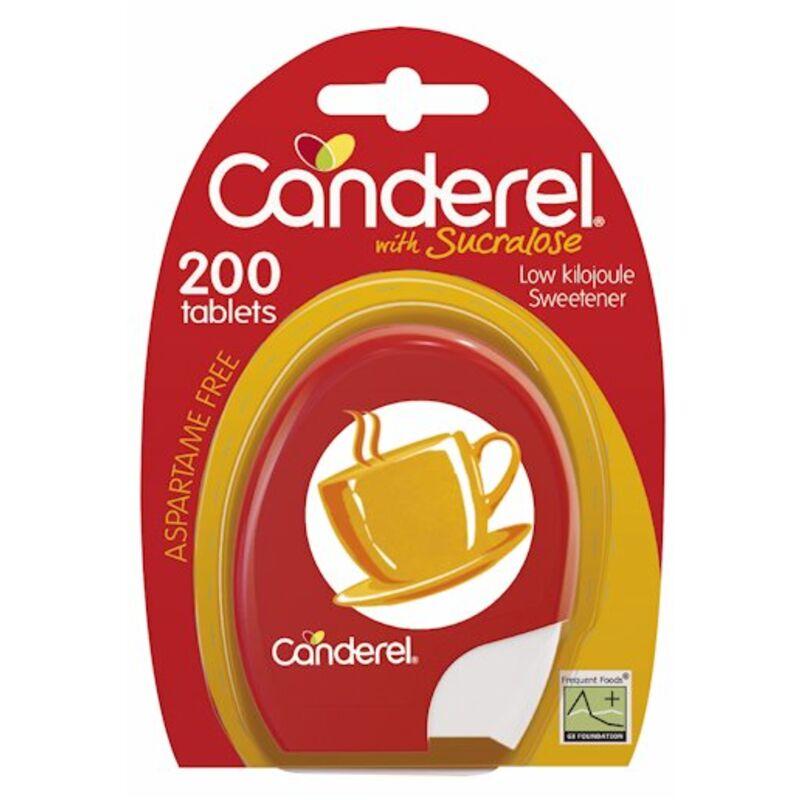 CANDEREL YELLOW SWEETENER TABLETS – 200S