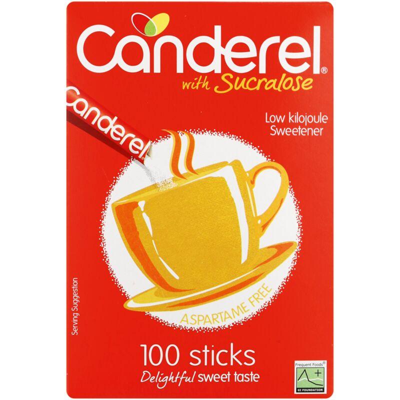 CANDEREL SWEETENER SACHETS YELLOW – 100S