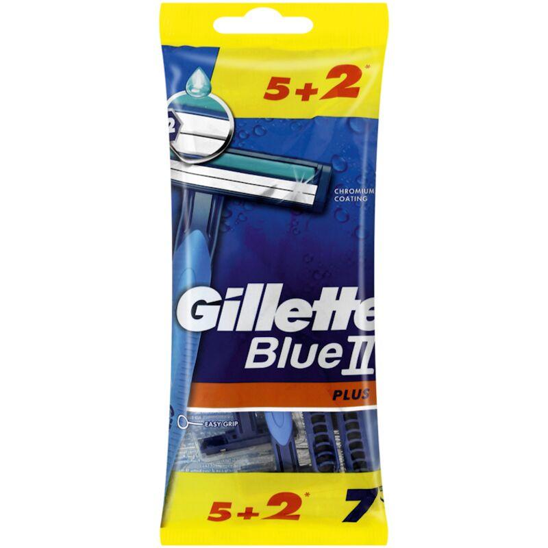 GILLETTE BLUE II PLUS DISPOSABLE RAZORS – 7S