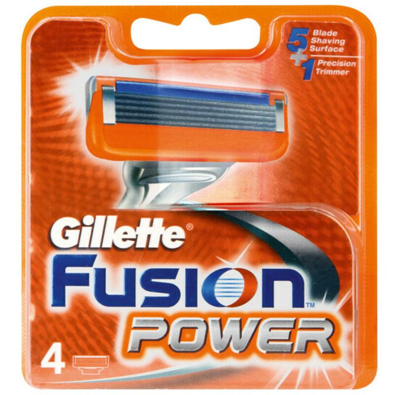 GILLETTE FUSION POWER CARTRIDGE BLADES – 4S