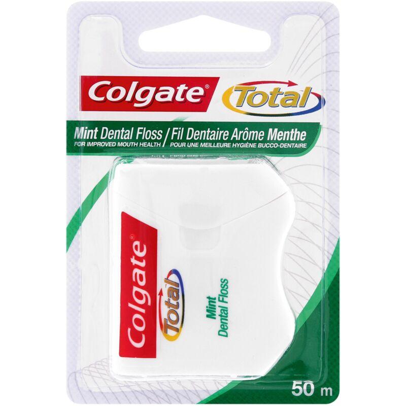 COLGATE DENTAL FLOSS TOTAL MINT – 50M