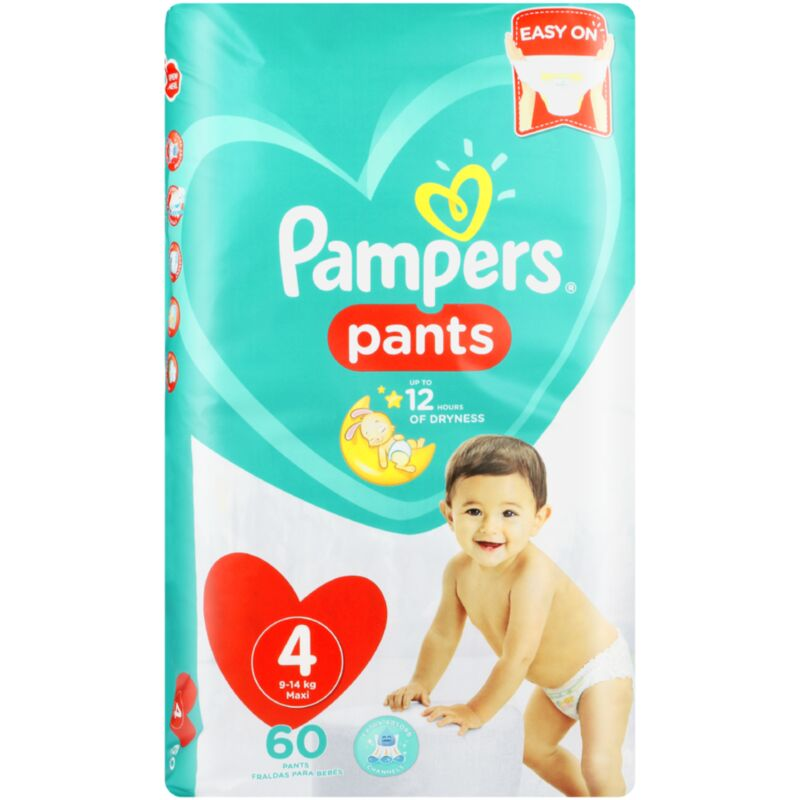 PAMPERS ACTIVE BABY PANTS SIZE 4 JP – 60S