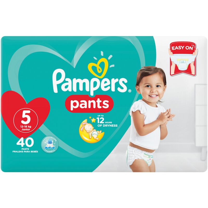 PAMPERS ACTIVE BABY PANTS SIZE 5 VP – 40S
