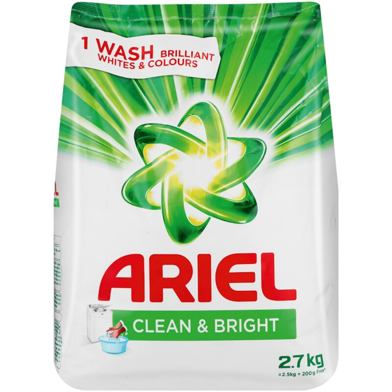ARIEL HAND WASHING POWDER – 2.7KG