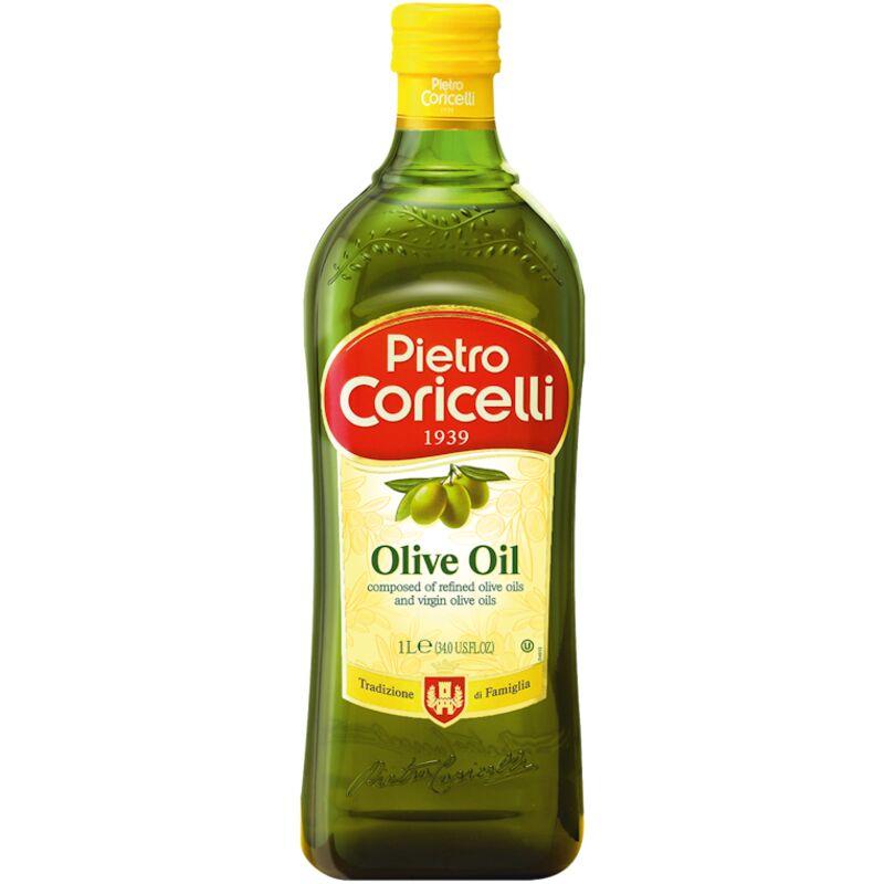 PIETRO CORICELLI ORGANIC PURE OLIVE OIL – GLASS BOTTLE – 1L