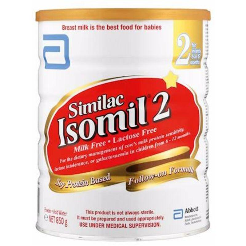 ISOMIL NO 2 FORMULA – 850G