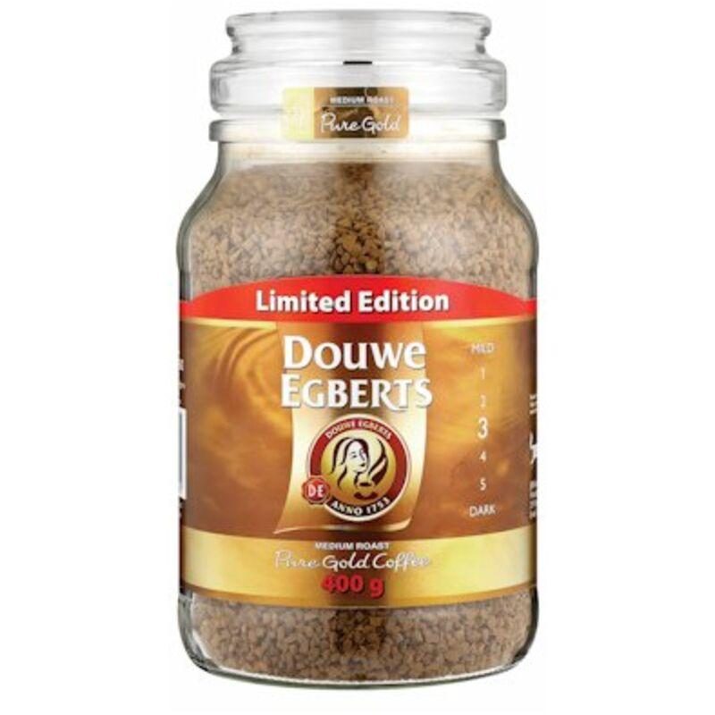 DOUWE EGBERTS PURE GOLD COFFEE – 400G