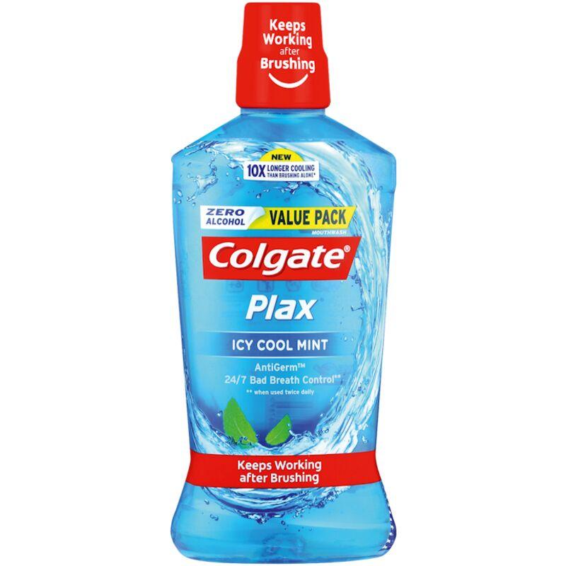 COLGATE MOUTHWASH PLAX ICY COOL MINT – 750ML