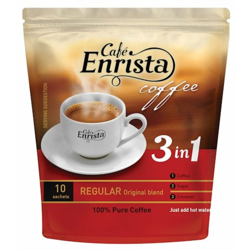 ENRISTA COFFEE 3IN1 REGULAR – 250G