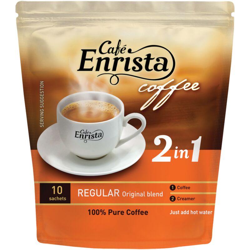 ENRISTA COFFEE SUGAR FREE – 250G