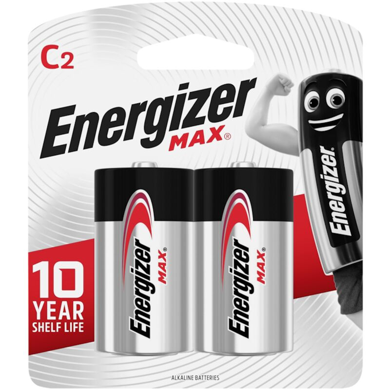 ENERGIZER MAX C 2 PACK – 2S