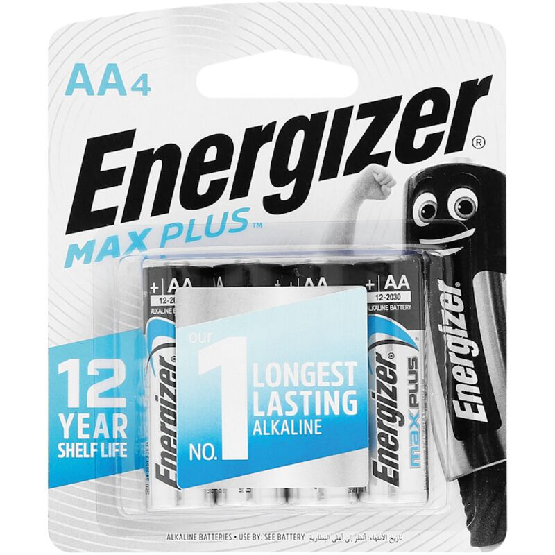 ENERGIZER MAXPLUS AA 4 PACK – 4S