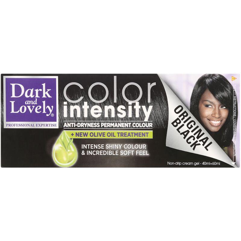 DARK & LOVELY COLOUR INTENSITY ORIGNAL BLACK 1B – 100ML