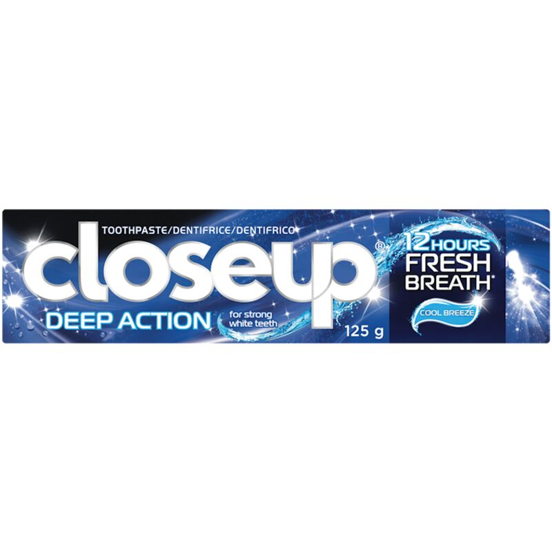 CLOSE UP TOOTHPASTE DEEP ACTION COOL BREEZE – 125G