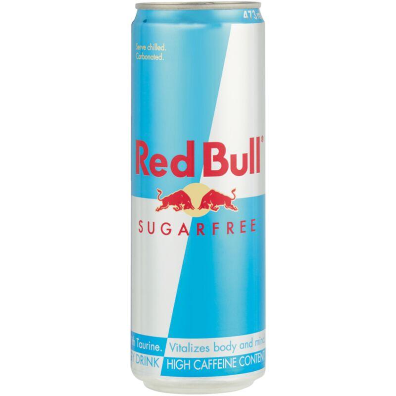 RED BULL ENERGY DRINK SUGAR FREE – 473ML