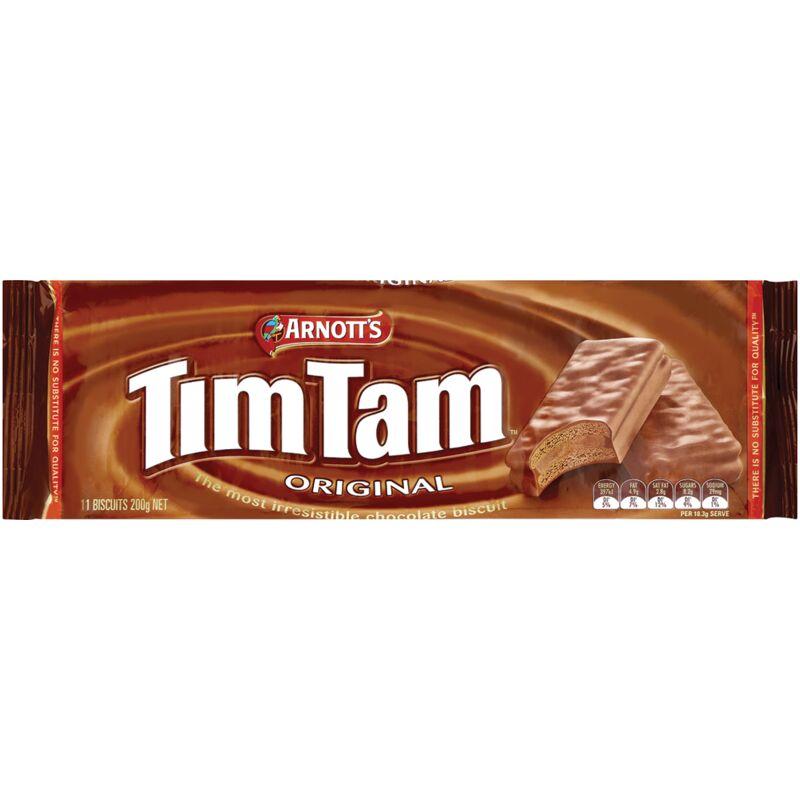 ARNOTTS TIM TAM BISCUITS CHOCOLATE – 200G