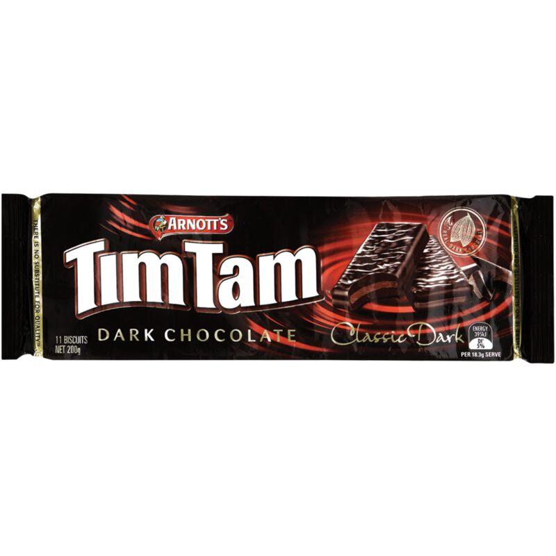 ARNOTTS TIM TAM CLASSIC DARK – 200G
