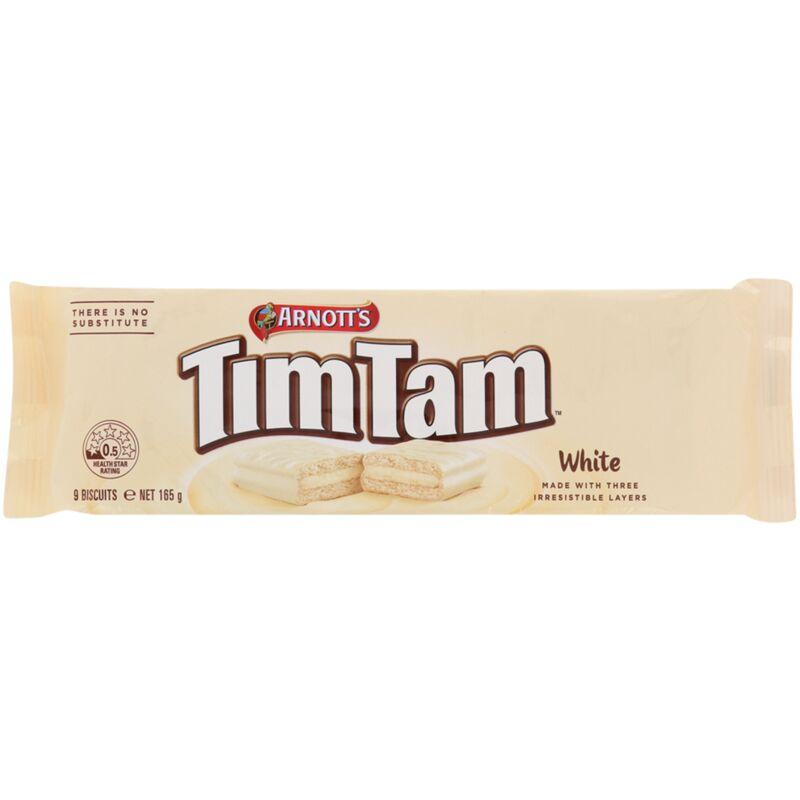 ARNOTTS TIM TAM WHITE CHOCOLATE – 165G