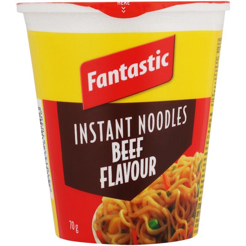 FANTASTIC NOODLES CUP BEEF – 70G