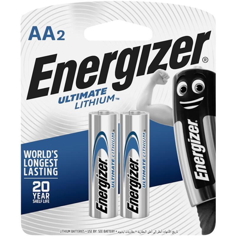 ENERGIZER ULTIMATE LITHIUM AA 2 PACK – 2S