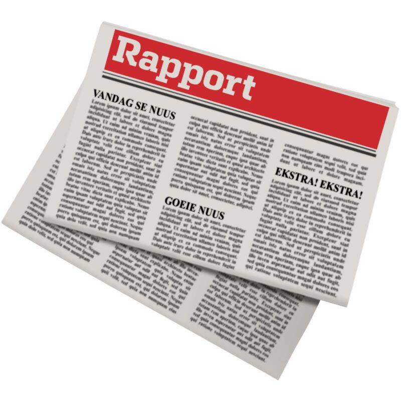 RAPPORT NEWSPAPER – 1S