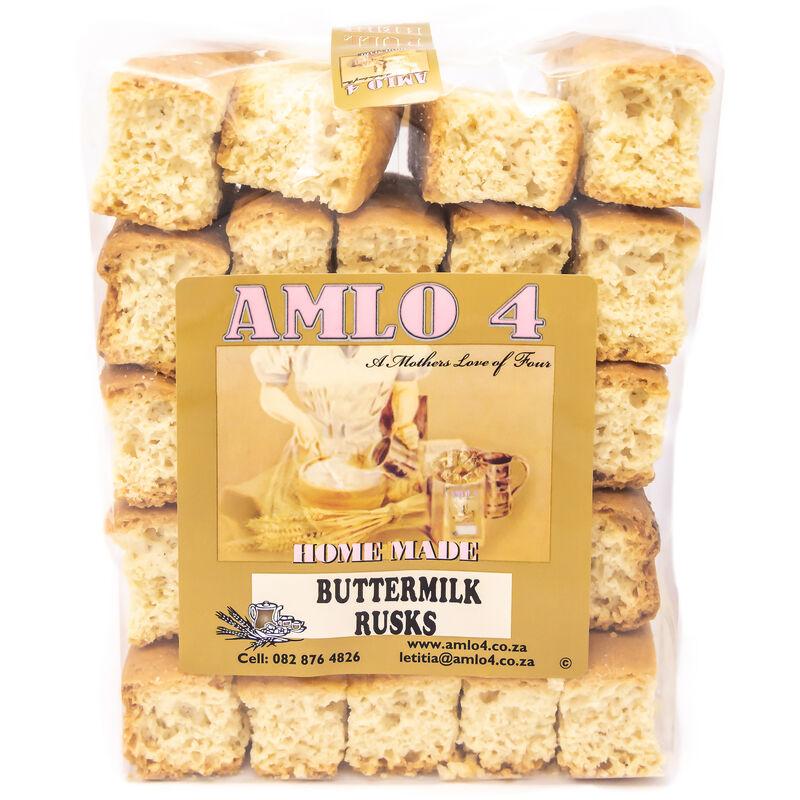 AMLO BUTTERMILK RUSKS – 500G