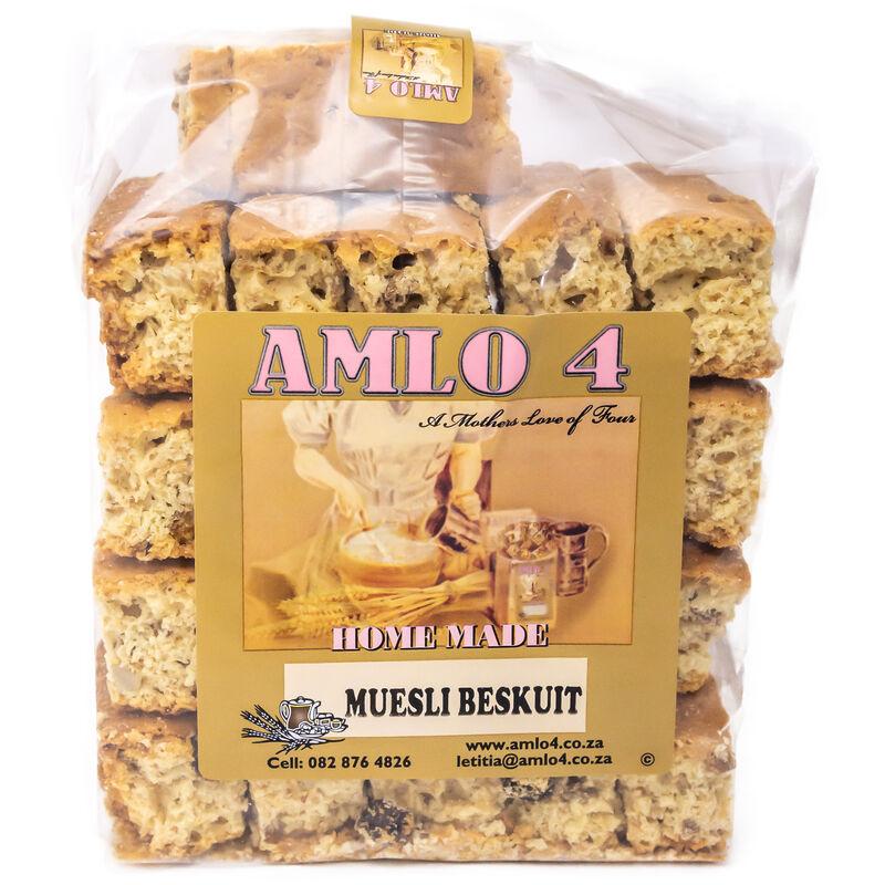 AMLO MUESLI RUSKS – 500G
